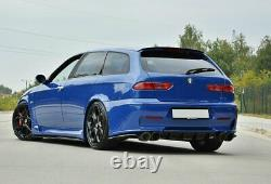 Heck Ansatz Diffusor passend für ALFA ROMEO 156 GTA SW Carbon Look