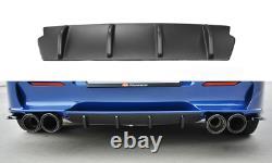 Heck Ansatz Diffusor passend für ALFA ROMEO 156 GTA SW schwarz matt