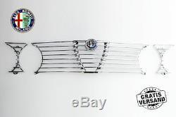Kühlergrill Kühlergitter Alfa Romeo Gtv 2000 Bertone Gt Komplett + Emblem Grille