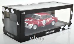 Minichamps Alfa Romeo GTA 1300 Junior 6h Jarama 1972 #33 1/18 Scale LE300 New