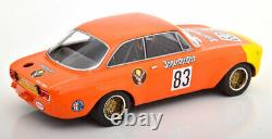 Minichamps Alfa Romeo GTA 1300 Junior Jaegermeister DRM 1972 Maschke 1/18 LE600