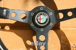 Momo Prototipo Ferrari Alfa Romeo GTA GTV Junior Giulia Steering Wheel 355mm
