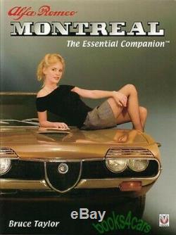 Montreal Alfa Romeo Book Essential Companion Taylor Gta