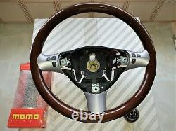 New Alfa Romeo Wooden Steering Wheel, Gearknob & Handbrake Handle, 147,156, GTA, GT