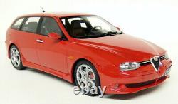 Otto 1/18 Alfa Romeo 156 GTA Wagon Red Scale Resin Model Car