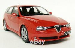 Otto 1/18 Scale Alfa Romeo 156 GTA Wagon Red Resin Model Car