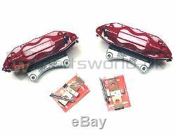 PAIR Alfa Romeo 147 156 GT 3.2 V6 GTA Red Brembo Brake Callipers New & Genuine