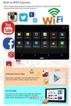 Pair 11.6 Android 7.0 RAM 2GB ROM 16GB Quad-core Car Headrest Monitors HDMI BT