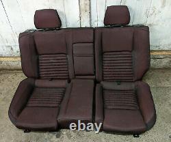 Rare Alfa 147 GTA Heated Red Cloth Interior/Seats