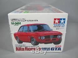 Rare New Seal Box Tamiya 1/10 R/C Alfa Romeo Gilia Sprint GTA M-04M Chasis 58307