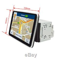 Rotatable 9in Android 8.1 Car Stereo Bluetooth WiFi MP5 Player GPS Navi 16G 2Din