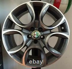 SET 4 Cerchi in lega compatibili Alfa Romeo 147 156 164 GT GTA Q2 da 16 NUOVI