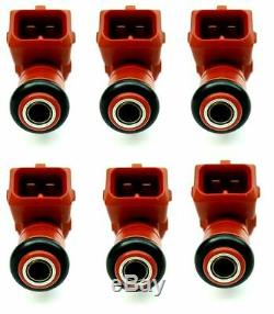 Set of Six (6) Fuel Injectors 147 156 GTA GT 919 GTV Spider V6 GENUINE 60665644