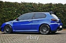 Side Skirts Add-on Diffusers For Alfa Romeo 147 Gta (2002-2010)