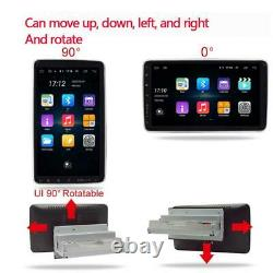 Single DIN 10in Car Stereo Multimedia Player Android 9.1 GPS WiFi MP5 Player 16G