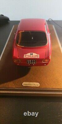 TECNOMODEL 1/18 TM18-60E Alfa Romeo Giulia GTA 1600 Tour de Corse'65 Bianchi