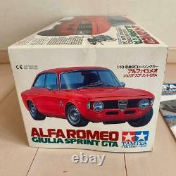 Tamiya 1/10 Electric RC Alfa Romeo Julia Sprint GTA Not Assembled Rare Japan