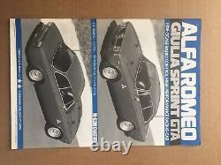 Tamiya Alfa Romeo Giulia Sprint GTA