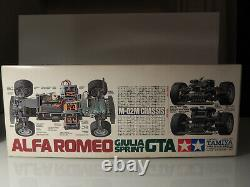 Tamiya Alfa Romeo Giulia Sprint GTA #58187 M02 M