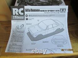 Tamiya M-06 RR Alfa Romeo Guilia Sprint GTA Complete Bundle New