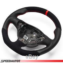 Tausch Tuninug Alcantara Leder Lenkrad Abgeflacht ALFA ROMEO 147 GT GTA GTV