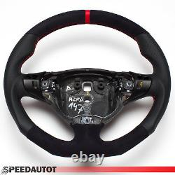 Tuning Abgeflacht Alcantara Leder Lenkrad Multif. ALFA ROMEO 147 GT GTA GTV