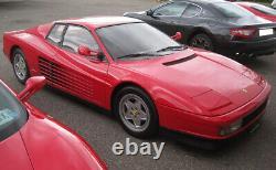 Türdichtung Vorne Velours Original Ferrari Testarossa 512 Tr F512 M 1984-96 Neu