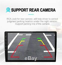 Ultra-thin 10.1 HD Android 8.1 Car 2GB+32GB Quad-Core Stereo Radio GPS 3G 4G BT