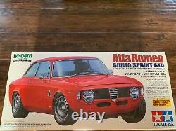 Vintage M-04M Tamiya Alfa Romeo Giulia Sprint GTA With Hop-up Options and ESC