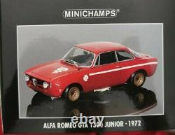 1/18 Minichamps Alfa Romeo Gta 1300 Junior 1972 Vers. Stradale, Prima Serie