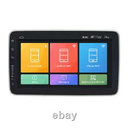 1 Din Android 8.1 9 Rotatable Quad-core 2+32g Voiture Wifi Stereo Radio Gps Obd Dab