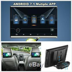 10.1 Android 7.1 Quad-core Wifi 3g / 3g Bt Moniteurs Voiture Lecteur Hdmi Headrest DVD