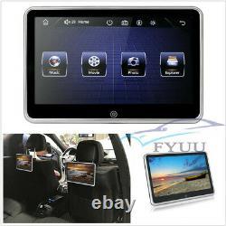 10.1 Ultra-mince Auto Headrest Video Monitor Mp5 Player Fm Bt Usb/sd Mirror Link