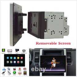 10.1dans 2din Android 9.1 Voiture Mp5 Écran Amovible Stereo Radio Gps Wifi Head Unit