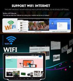10.1dans Android 9.1 Voiture Stereo Mp5 Lecteur Gps Wifi Bt 1+16g Seul Din Fm Radio