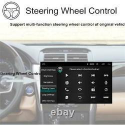 10.1po Rotatable 2din Car Radio Stereo Mp5 Player Gps Sat Nav Bluetooth+camera