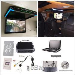 10.2 Autos Écran Hd Monté Sur Le Toit Overhead Moniteur Tft LCD Pliable Lecteur Vidéo