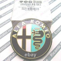 100% Genuine Alfa Romeo 147 156 Gta Nouveau Insigne D'emblème De Boot Arrière 46822713