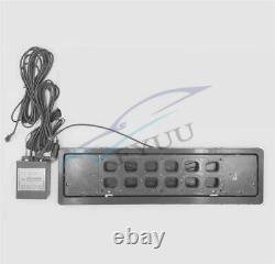 12v Eu Standard De Télécommande Flip Retractable Voiture Suv Plaque D'immatriculation Cadre 1pcs