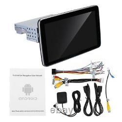 1din 10.1in Voiture Stéréo Sat Nav Gps Mirror Link Bluetooth Radio Wifi Mp5 Player