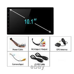 1din Voiture Stéréo Mp5 Player Android 9.1 10in Wifi Bt Gps Navi Fm Radio Head Unit