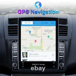 2din 9.7in Android 9.1 Voiture Stéréo Radio Wifi Fm Mp5 Player Gps Navigation+caméra