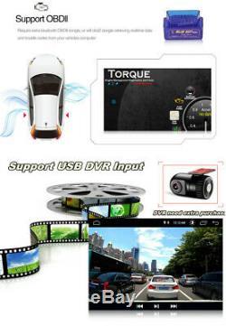 4 + 64go 10.1in Simple Din Android 9.0 Car Radio Fm Stéréo Am Sat Nav Gps Wifi Bt