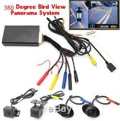 4ch Entrée Vidéo Hd Seam Autos 360 ° Oiseaux Vue Panoramique Système Dvr Appareil Photo Visualisation