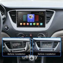 8 1din Android 8.1 Radio Car Wifi Miroir Gps Navi Lien Lecteur Head Unité 1 + 16 Go