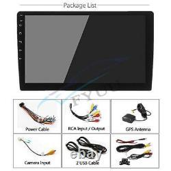 8 Voiture Rotative 1din 1080p Quad-core Android 8.1 Stéréo Gps Wifi 1g+16g+ Caméra