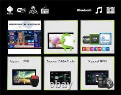 9 2din Android 9.1 Head Unit Car Gps Sat Navigator Mp5 Bt Stereo Radio Receiver