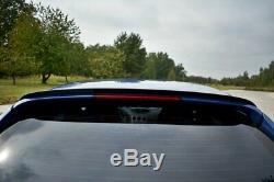 Aileron Wing Extension Pour Alfa Romeo 156 Sportwagon Gta 2002-2005 (noir Brillant)