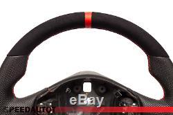 Alcantara Aplati Volant Cuir Alfa Romeo Gt 147 Gta. 24moisdegarantie