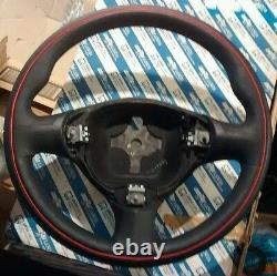 Alfa Romeo 147 Genuine Nos Volant En Cuir Plaine Gt New Gta 156